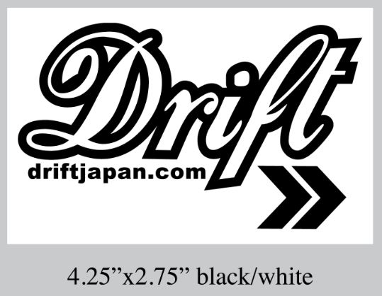 Stylish Drift Japan sticker