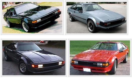 Toyota Celica Supra Mark II 1982-1986