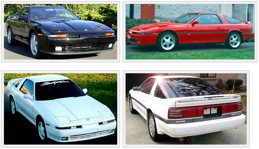 Third generation Toyota Supra 1986-1992.
