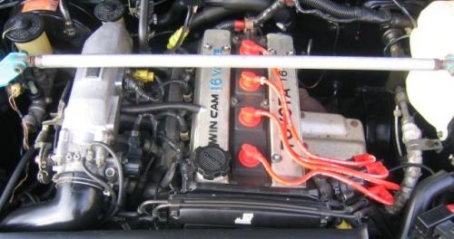Toyota Corolla AE86 engine