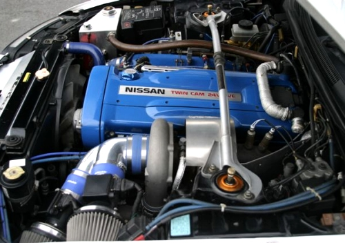Imported Japanese engine with performance specifications