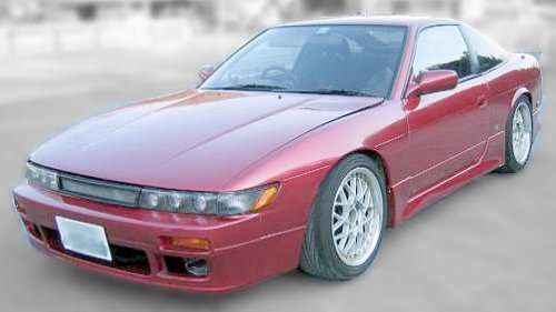 Heavily modified Nissan Silvia S13