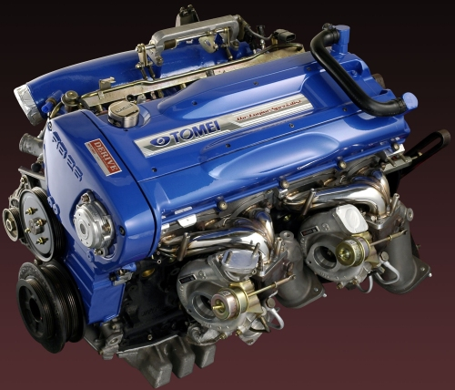 Nissan factory engine code RB26